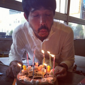 photo:Happy Birthday ! 林さん!
