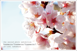 "photo:the second photo exhibition  ""kamera!kamera!kamera!"""
