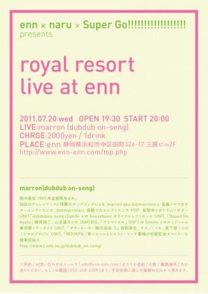 photo:royal resort Live marron (dubdub on-seng)