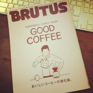 photo:このところ、連チャンでナイスなBRUTUS さん!