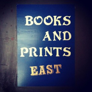 photo:BOOKS AND PRINTS BLUE EAST Open