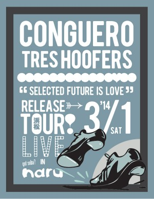 photo:Conguero Tres Hoofers 「Selected Future is Love」Release tour @ naru