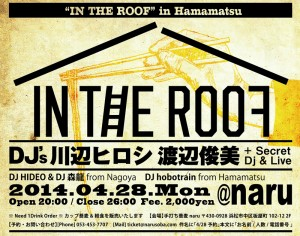 photo:「IN THE ROOF」in Hamamatsu 4/28(月) @naru