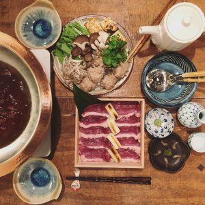 photo:奈良産鴨鍋はじまってます!
